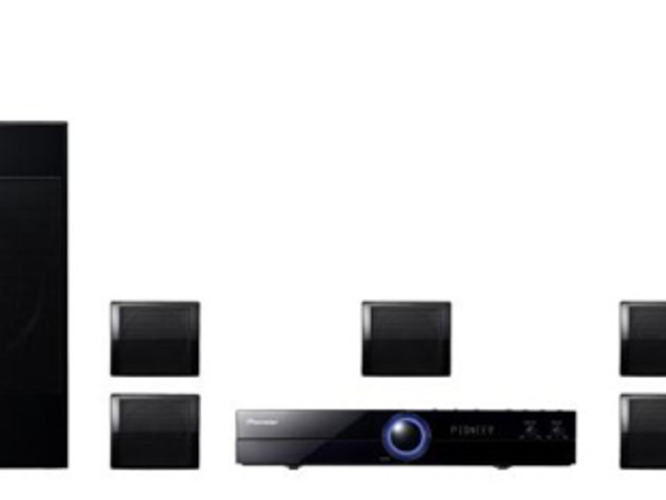 Pioneer DVD-Home Cinema Systeem