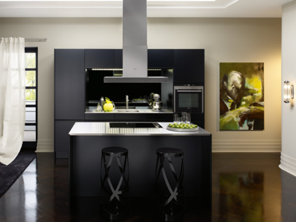 Siematic sc 66 k zwarte parel in keukendesign - Keuken minimalistisch design ...