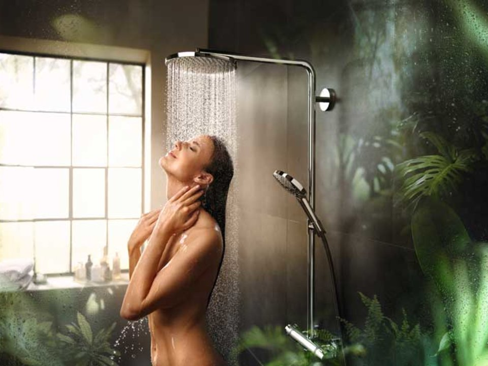 Hansgrohe PowderRain.