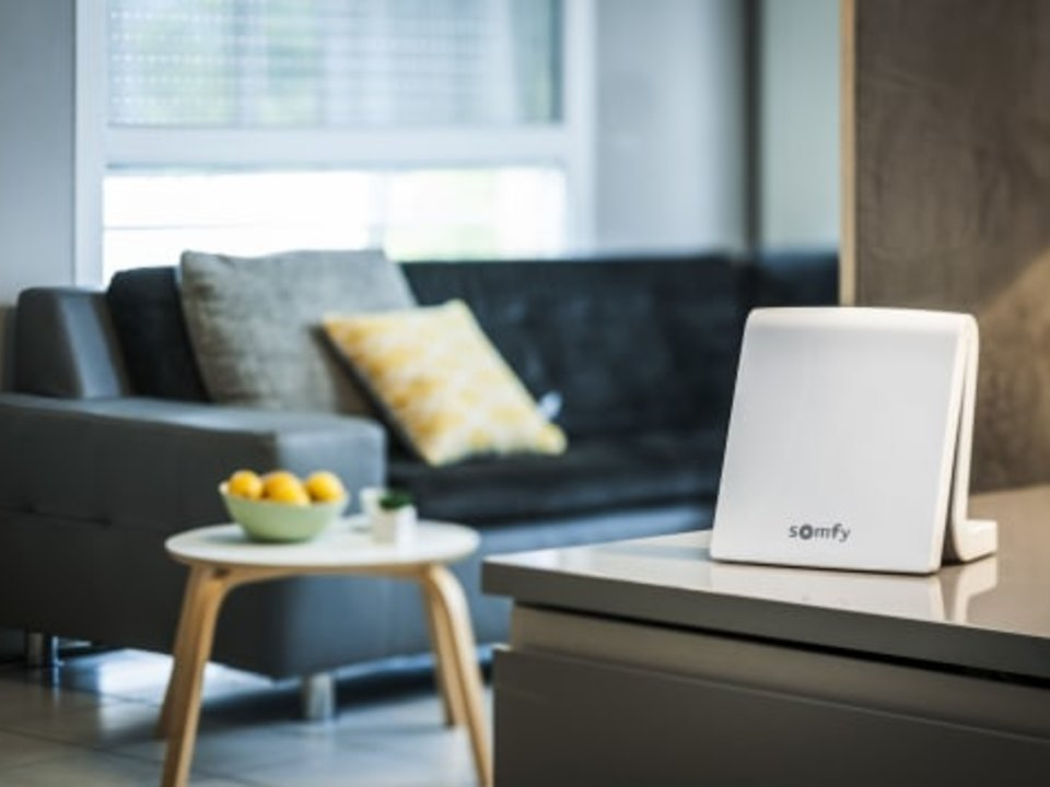 Somfy's Smart Home producten