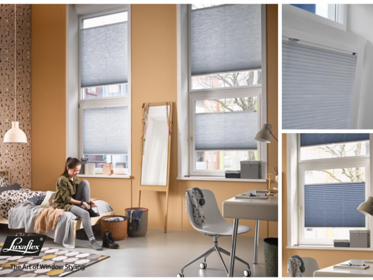 Luxaflex raamdecoratie